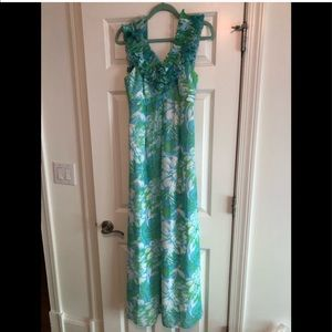 Full length Lilly Pulitzer dress